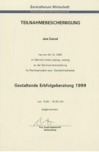 Gestaltende Erbfolgeberatung 1999